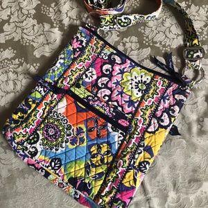 Vera Bradley Women's Floral Criss Body Bag